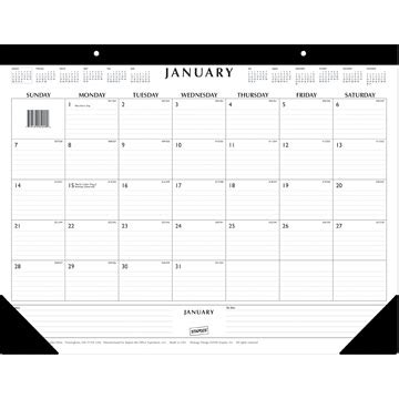 what is a desk blotter calendar organization quest pdas and organizing software more