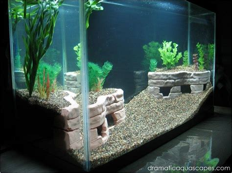 dramatic aquascapes dramatic aquascapes diy aquarium decore stone terraces on