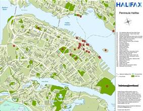 halifax canada map halifax tourist attractions map
