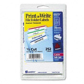 How To Print File Folder Labels From Excel 2010 Mail Merge For Dummies Creating Address Labels Avery Worksaver Tab Inserts 11136 Template