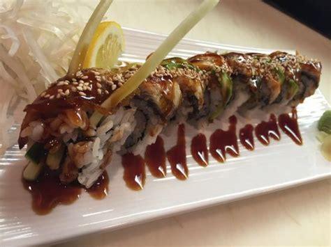 tai sushi house dragon roll picture of thai sushi house restaurant fishers tripadvisor