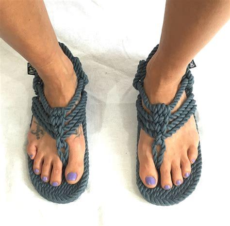 Jester Sandal nomadic state of mind rope sandal jester in denim color