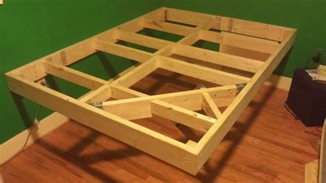 how to build a floating bed redditor builds incredible diy floating bed photos