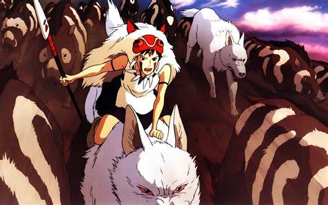 download film animasi ghibli princess mononoke wolves boar san princess mononoke