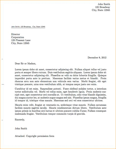 professional business letter template a professional letter format basic appication letter