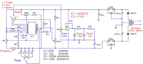what is the function of diode in generator electrogenesis test gear circuits