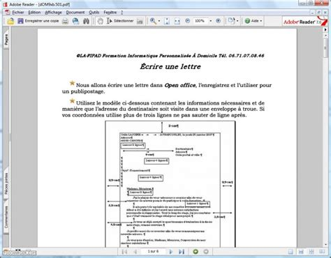 Exemple De Lettre Open When exemple modele lettre openoffice