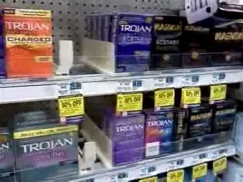 what section are condoms in rite aid money maker trojan condoms wk of 10 27 youtube