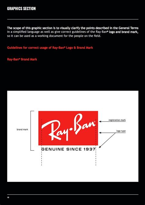 ray ban brand guidelines