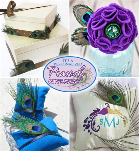 steunk decorations peacock favors