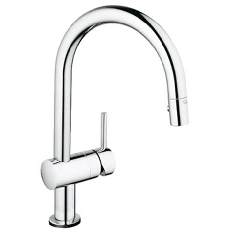 grohe canada kitchen faucets minta the water closet grohe 31359000 minta touch kitchen faucet w pullout spray