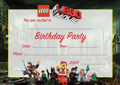 free printable lego invitation template lego movie birthday invitation template invitations online