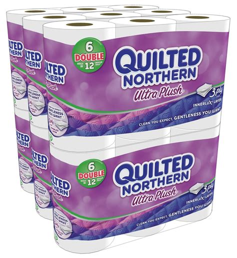 quilted northern ultra plush bath tissue      regular roll