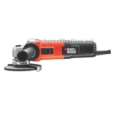 black and decker grinder black decker kg751 angle grinder tech specs