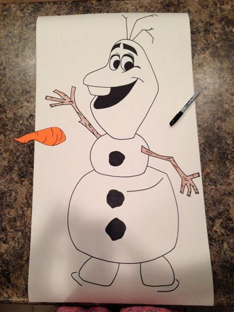 printable olaf without nose 100 best frozen birthday party images on pinterest