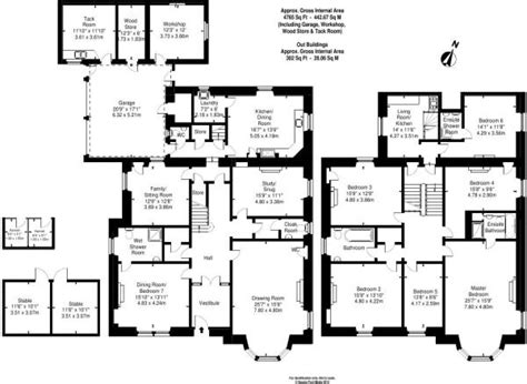 The Nanny Floor Plan by 6 Bedroom House For Sale In 39 Frogston Road East
