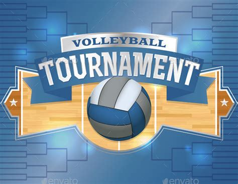 design volleyball poster volleyball tournament design poster by enterlinedesign