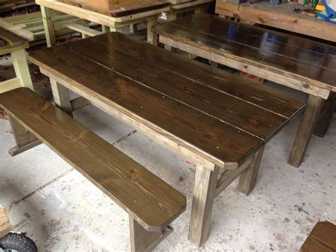 picnic table with separate benches plans wooden picnic tables rectangular picnic table wood