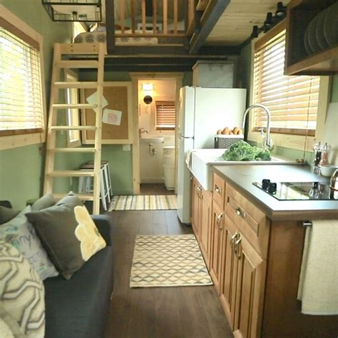 tiny house for two dear people who live in fancy tiny houses