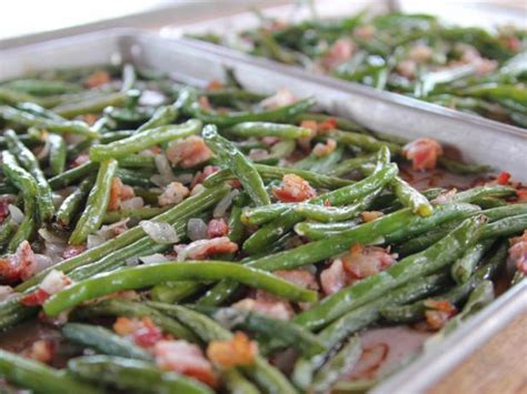 roasted green beans recipe ree drummond food network