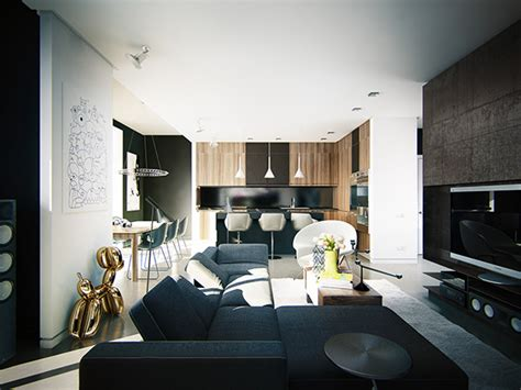 modern apartment art contemporary apartment kiev ko ko on behance