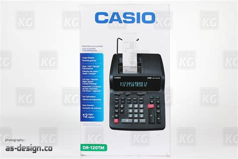 Casio Printing Calculator Dr 140tm casio kalkulator printer dr 120tm putih daftar update