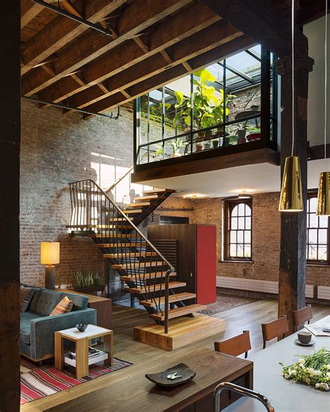warehouse turned into a loft with interior court and