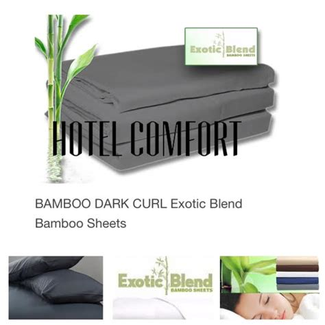 hotel comfort bamboo hotel comfort exotic blend bamboo sheet set soft cozy