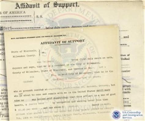 Affidavit Of Support Letter For Fiance Visa The Fiancee Visa Affidavit Of Support