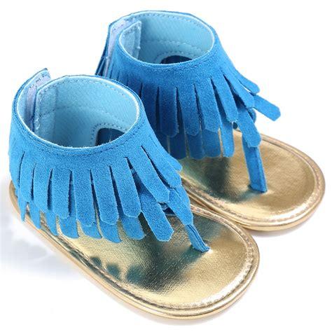 baby summer shoes baby tassel sandal summer shoes anti slip flip flop