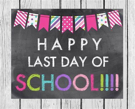 Questrom School Of Business Mba Last Day To Drop by Happy Last Day Of School Printable Last Day By