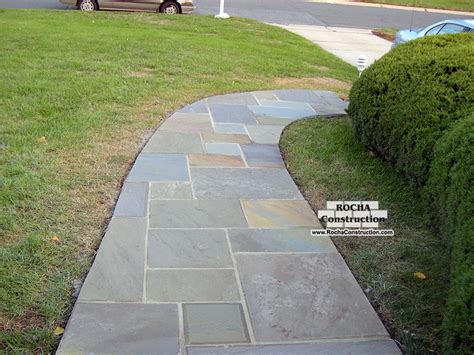 top 28 flagstone construction construction of canadian flagstone patio with brick paver