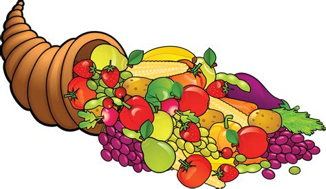 free thanksgiving clipart cornucopia clipart thanksgiving pencil and in color