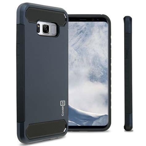 Acc Blueray Samsung Galaxy S8 Plus Slim Cover Hardca for samsung galaxy s8 plus armor cover with carbon fiber slim look ebay