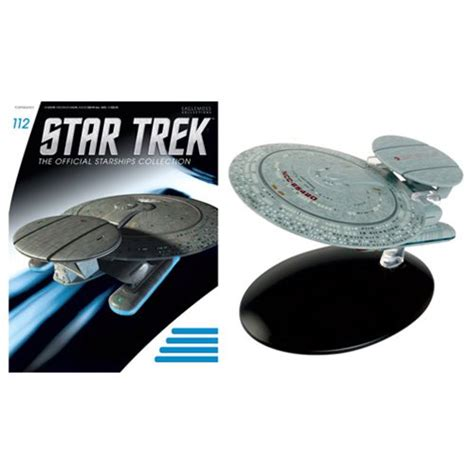 trek starships figure magazine 112 uss nebula class books trek starships u s s nebula class mag 112