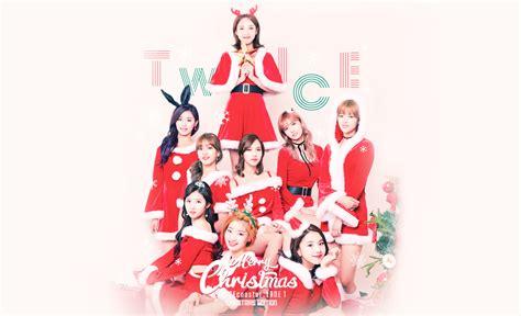 twice christmas twice christmas wallpaper twice