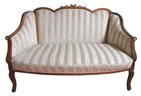 english settee english silk upholstered settee omero home