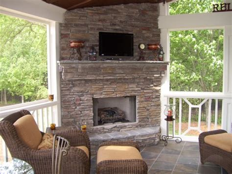 best 20 porch fireplace ideas on