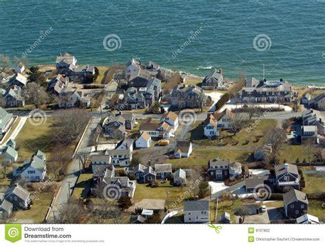 Pilgrim Monument Cape Cod - chatham cape cod aerial photo stock photography image 9707802