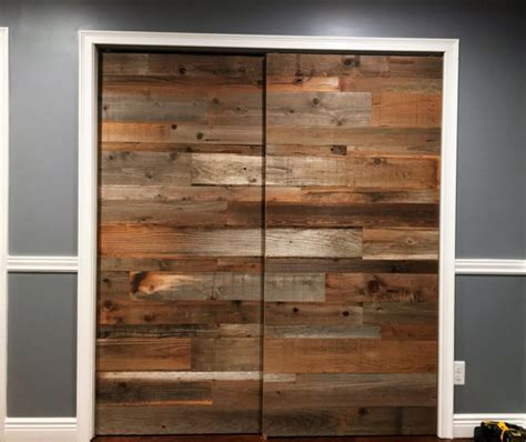 Reclaimed Wood Sliding Barn Doors Awesome Reclaimed Barn Door D40 In Modern Inspirational Home Throughout Remodel 18 Mprnac
