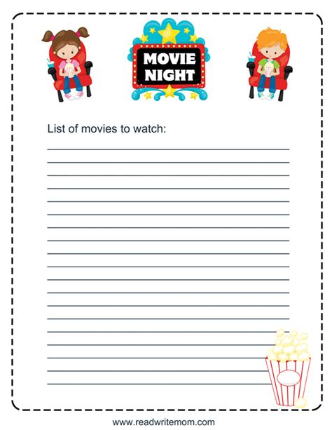 oscars 2016 download our printable movie checklist the keep a list of movies to watch with a printable movie