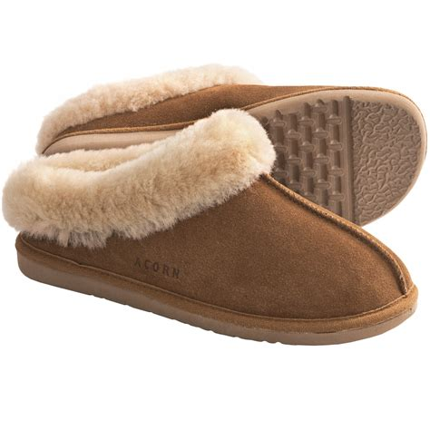 sheepskin slippers acorn klogs slippers sheepskin for save 30