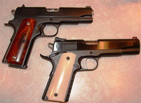 Handmade Pistols - custom pistols