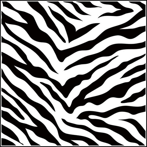zebra pattern clipart zebra template clipart best