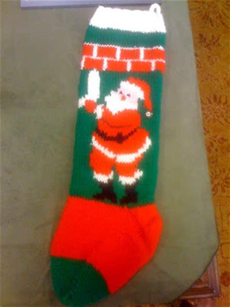 knitting pattern christmas stocking free knit christmas stocking patterns free