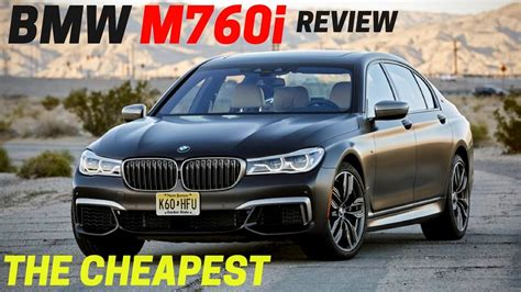 cheapest new bmw look 2017 bmw m760i xdrive the cheapest v12 powered new