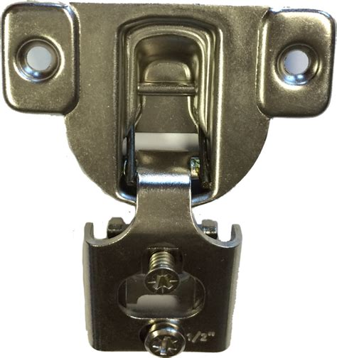 6 way adjustable cabinet hinges 6 way adjustable 1 2 quot partial overlay compact face frame