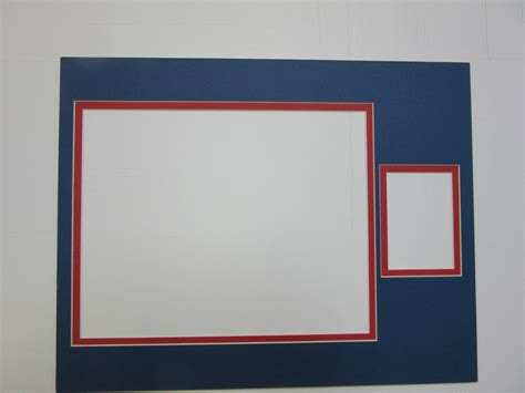 11x14 Mat With 8x10 Opening by Picture Frame Multi Opening Mat 11x14 For 8x10