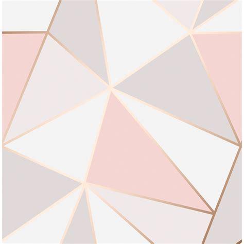 Gold Wallpaper B And M | apex geo wallpaper rose gold wallpaper b m