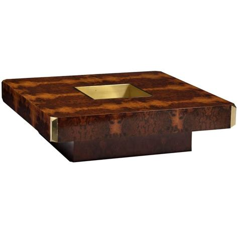 willy rizzo quot alveo quot coffee table at 1stdibs